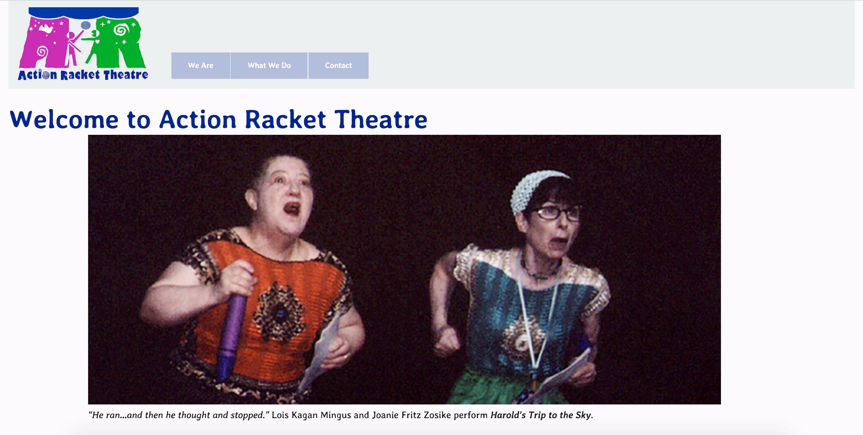 Action Racket Theatre Web Site Beta