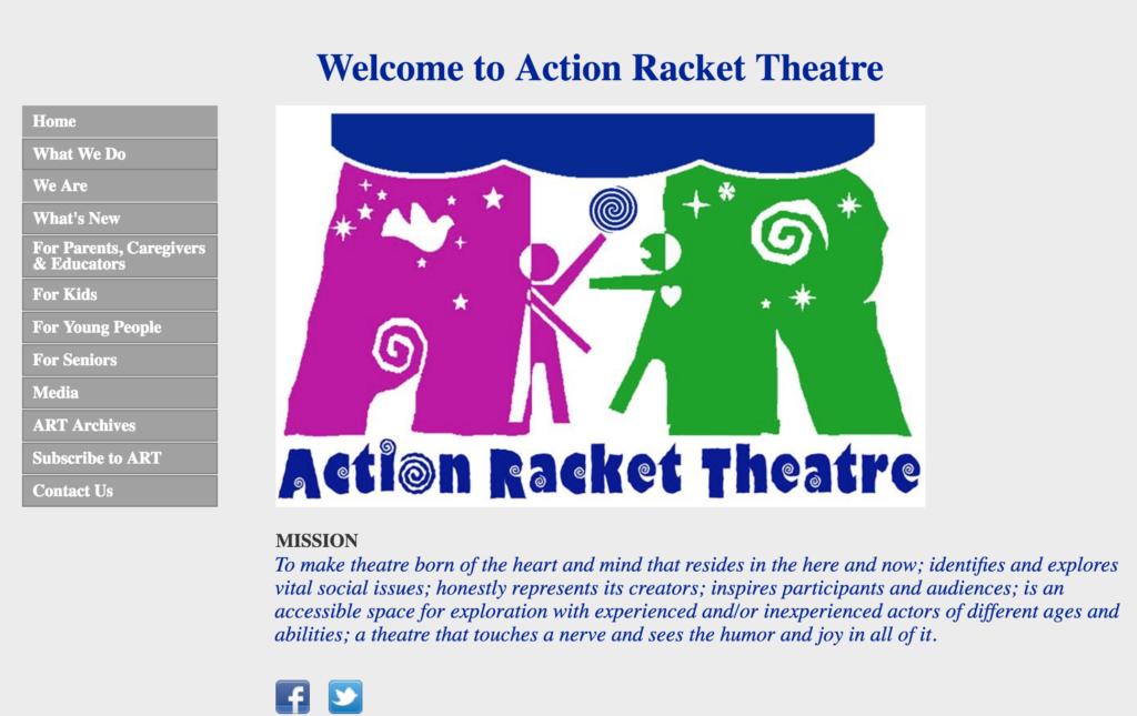 Action Racket Theatre Prototype
