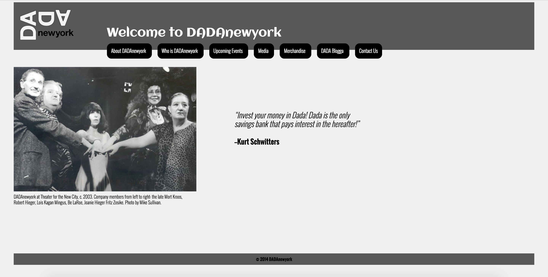 DADAnewyork Home Page