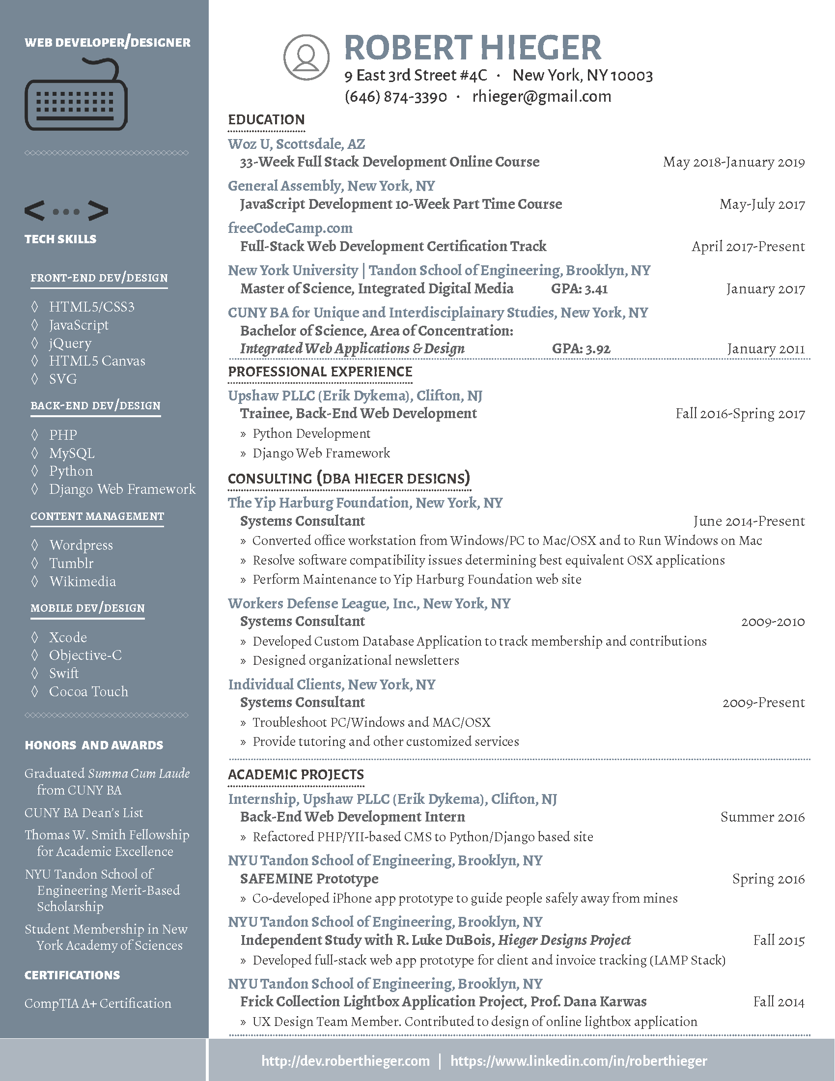Image of Resume